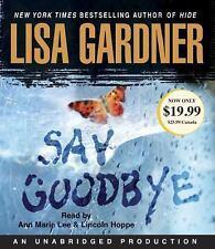 Lisa Gardner Say Goodbye . ...13cd's Unabridged audio book