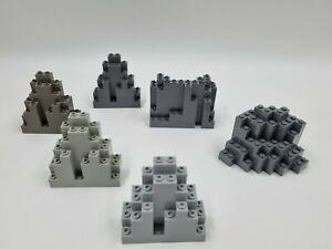 Lego rock wall panel grey 6083 23996 6082 60052 choose style colour (K2)