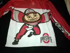OHIO STATE  DOUBLE SIDED MOTION BRUTIS LS SHIRT SIZE XL? (1) SPINNER