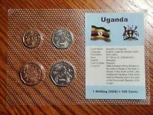Uganda 1987 Type Mint Set