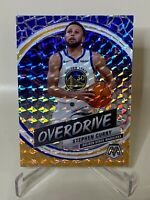 2019-20 Stephen Curry Panini Mosaic Overdrive Prizm Golden State Warriors