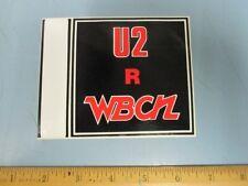Wbcn Boston Vintage U2 R Wbcn Promotional Sticker New Old Stock Flawless