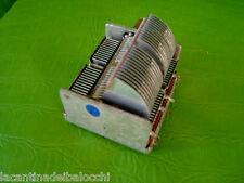 Condensatore Variabile a 2  sezioni cap. 100 Pf + 100 Pf Nuovo vedi foto grande