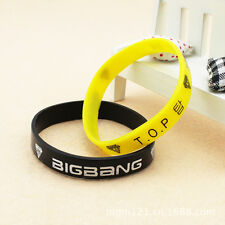 BIGBANG TOP T.O.P BB KPOP Supporter WRISTBAND BRACELET X2 Y2350