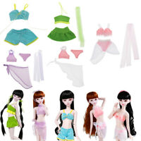 1/3 Outfit Kleidung BH Top Slips Rock Badeanzug Für 60cm Lolita Puppen