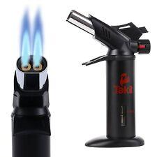 Torche de Cuisine de Flamme Double Professionnel Usée En raison de Nos Chefs