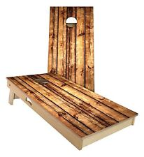 Slick Woody's rustic pallet 2' by 4' cornhole board game set - Quality USA made!