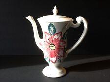 "Blue Ridge Pottery 9"" Millie's Pride Floral Chocolate Pot"