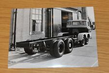 Scammell  Photograph Large Black & White