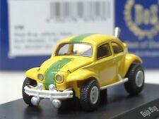 BOS VW Baja Bug, gelb, grüner Streifen - 87191 - 1:87