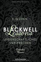 Blackwell Lessons - Leidenschaftliches Versprechen -: De... | Buch | Zustand gut