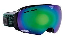 Alpina Granby - pinegreen MM grün - Doubleflex Multimirror - Skibrille