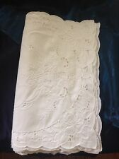 Vintage Collectible White Cotton Cutout Dollies Handcrafted