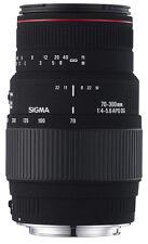 Sigma SLR Kamera-Objektive mit Nikon F-Anschlussart