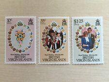 British Virgin Isl. Briefmarken Satz postfrisch Royal Wedding Diana Charles (15)