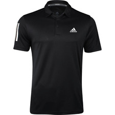 ADIDAS MENS 3 STRIPE GOLF PERFORMANCE POLO SHIRT ALL COLOURS & SIZES