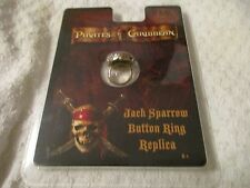 Master Replicas Pirates of the Caribbean Jack Sparrow Button Ring Replica