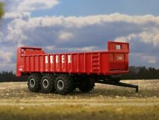 1/64 Custom Artex CB1200 Manure Spreader Vertical Beater Red