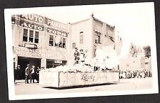 1925-35 APPLE BLOSSOM FESTIVAL PARADE LIBERTY THEATRE WENATCHEE WASHINGTON PHOTO