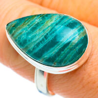 Amazonite 925 Sterling Silver Ring Size 9.75 Ana Co Jewelry R42388F