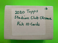 2020 Topps Stadium Club Chrome Pick 10 Cards !Complete Your Set Lots of Rookies