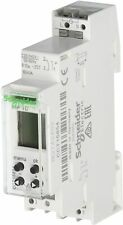Schneider Programmable Digital Time Switch 24h 7 Day 1 Channel 230v CCT15854