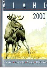 2000 Åland, offizielle Jahrgang-Mappe, Yearset, Frimärken-Set