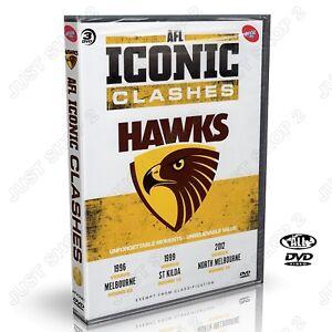 AFL Hawthorn Football Club - Iconic Clashes DVD : Brand New 3-Disc Set
