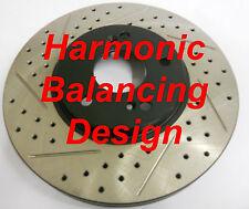 06-12 Honda Ridgeline Premium Performance Rotors Harmonic Balancing Design Rear