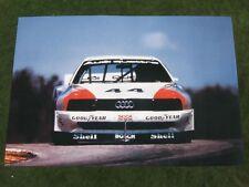AUDI 200 Quattro Trans Am POSTER - Haywood Walter Röhrl ORIGINALE Sport quattro
