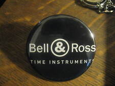 Bell & Ross Time Instruments Watch Advertisement Button Pin FREE USA Ship $20