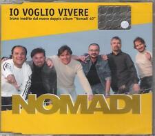 """NOMADI - RARO CDs CELOPHANATO """" IO VOGLIO VIVERE """""""