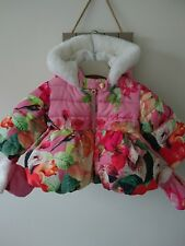 Baker baby girl padded jacket 3-6 months great condition