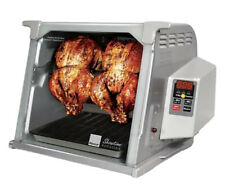 NEW Ronco Showtime Rotisserie & BBQ 5000 Series Platinum Silver 1250 Watts
