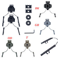 Tactical Suspension Headset Bracket Helmet Rail Adapter equipment For FAST MICH
