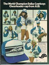 Dallas Cowboys Cheerleaders  -  Magazine advertisement -  1978