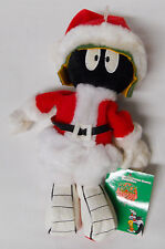 1998 Warner Bros Studio Store Santa Marvin the Martian Mini Bean Bag-Beanie