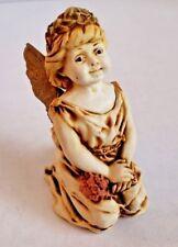 Harmony Kingdom Fleur de lis angel angelique treasure box collectible retired