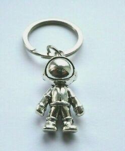 Astronaut 3D Metal Keyring