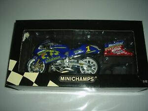 MINICHAMPS 1/12 SUZUKI RGV-GAMMA TELEFONICA MOVISTAR K.ROBERTS  500cc GP 2001