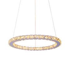 1 Ring Modern Galaxy Crystal Chandelier Pendant LED Light Ceiling Lamp Lighting