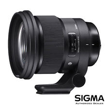 Sigma 105mm F1.4 Art DG HSM for Canon EF *OPEN BOX - DEMO* *USA Authorized*