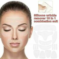 Silicone Face Eye Forehead Anti Wrinkle Patches Reusable Set Lifting Pad C8E2