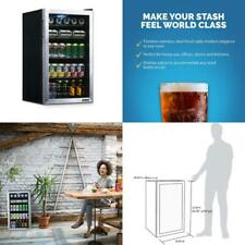 New listing Newair Beverage Refrigerator And Cooler With Glass Door, 126 Can Capacity Freest