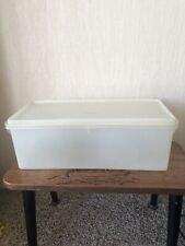 Vintage Retro Tupperware Large Rectangle Food Storage Box