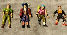New ListingRare 1991 Hook Action Figures Lot of 4 Peter Pan Captain Hook Rufio Bill Jukes