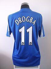 DIDIER DROGBA # 11 CHELSEA HOME FOOTBALL SHIRT JERSEY 2006/2007 (L)