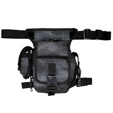 MFH Hanche Sac Chasse Police Patrouille Argent Ceinture Snake Black Camo