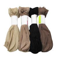 5-10 Pair Women's Ankle Socks Summer Short Thin Transparent Crystal Silk Socks