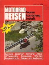 TF8403 + Test  HARLEY-D. Sport Glide + Test YAMAHA TR 1 + MOTORRAD REISEN 3/1984